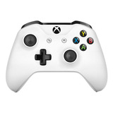 Joystick Microsoft Xbox One Controller + Cable For Windows Blanco
