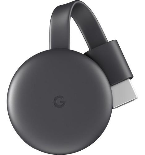 Google Chromecast 3 Smart Tv Hdmi Netflix Sin Caja Ver. Bulk Original C/ Fuente + Cuotas Mp