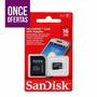 Tarjeta Memoria Micro Sd 16 Gb Sandisk