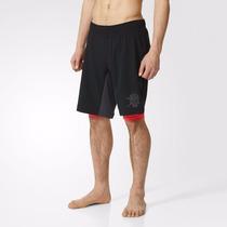 Short Adidas Dos En Uno Con Calza Techfit Original Importado