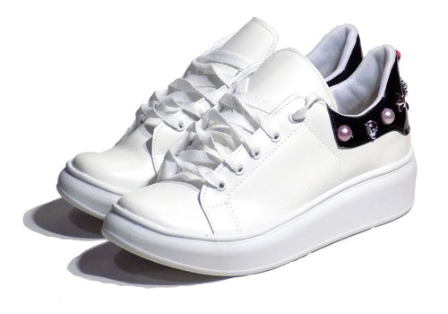 402db1767e Zapatillas Mujer Sneakers Tachas Plataforma Cokis Shoes 2019