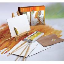 Atril Y Set Acrílicos Artmate Ax-hj-4d