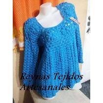 Chaleco Y Sacos Tejido Al Crochet - Tejidos Atesanales.