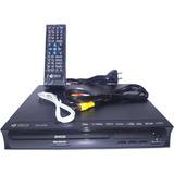 Reproductor De Dvd   Con Control Remoto Ultra Slim Lee Todo!