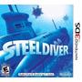 Nintendo 3ds Steeldiver Submarinos Juego Sellado