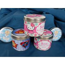 Latas Personalizadas Ideal Souvenirs Mickey,pepe Y Más!!!