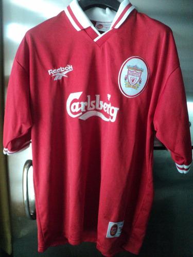 18eab0bfabb Camiseta Futbol Reebok Liverpool F.c. England Carlsberg