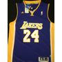 Camiseta Importada Basquet Nba Lakers #24 Kobe Bryant