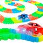 Pista Magnific Tracks Grande 240 Pzas Autos Luminoso 90240