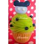 Cupcake Delicados Minnie Y Mickey Mouse Souvenirs Porcelana