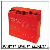 Bateria Gel Vapex  12v 17ah Mayor Duracion Usos Multiples