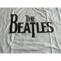 Remera The Beatles Blanca