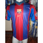 Camiseta Fútbol Barcelona España Nike 1998 1999 Rivaldo 10 M
