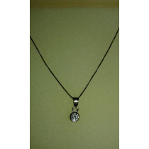 Collar De Plata 900 Con Brillante