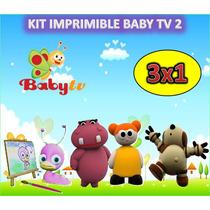 Kit Imprimible Baby Tv 2