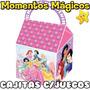 10 Cajitas Princesas Disney Souvenirs Golosinera + 7 Juegos