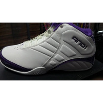 Zapatilla And 1 Rocket Mid Blanca/purple 42.5/43
