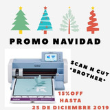 Brother Scanncut Plotter Corte Sdx225 Scan N Cut /6 Cuotas