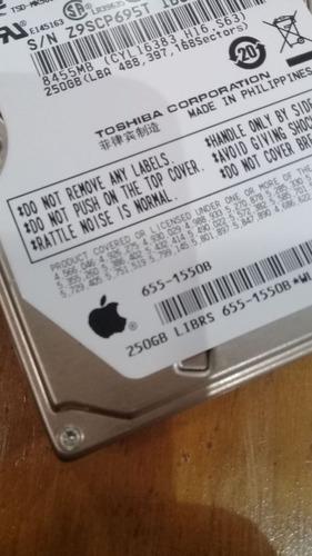 Disco Rígido 250 Gb Hdd P/ Notebook, Macbook Pro