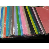 Papel Seda  Pack X 50 Hojas De 50x70 - Lisos Varios Colores