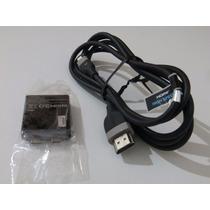 Cable Microhdmi A Hdmi + Ficha Webtop * Razr Hd-atrix-xoom