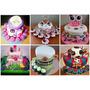 Tortas Infantiles Promo 1kg+12cupcakes