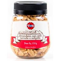 Amendoim sem Pele Torrado e Salgado 150g - Flora