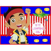 Kit Imprimible Jake Y Los Piratas Ytli2016