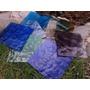 Vidrios De Colores Nacionales Reciclados 30x30cm Aprox