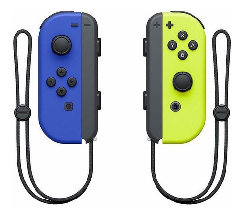 Joystick Nintendo Joy-con Azul/amarillo Neón