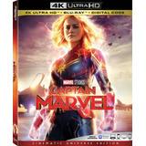 4k Ultra Hd + Blu-ray Captain Marvel / Capitana Marvel