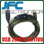 Cable Alargue Usb 25 Mts Activo Amplificado Cam Wifi