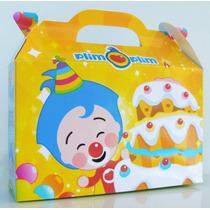 Cajita Valijita El Payasito Plim Plim Souvenir Pack X30