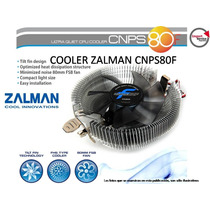 Cooler Zalman Cnps80f Ultra Silencioso 80mm 1151 Fm2 Am2 775