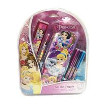 Princesas Set De Regalo Escolar Con Lic.disney Original