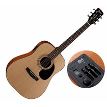 Guitarra Cort Electroacústica Ad810e Op Natural C/funda