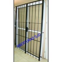 Puerta Balcon 150x200 Con Reja