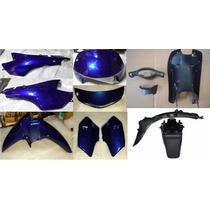 Kit Plasticos Honda Biz 105 Azul Oscuro - 2r