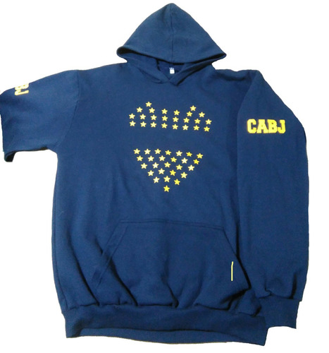 Buzo Canguro Personalizado Boca Juniors Agufa Longchamps en venta en ... 4f731e9f72ab3