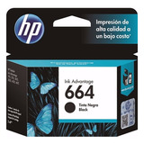 Cartucho Original Hp 664 Black Para 2135 3635 4535 4675
