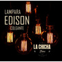 Lampara Colgante Edison Lista P Instalar!