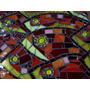 Cuadro En Mosaico De Vidrio - Mosaiquismo Vidrios Importados