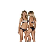 Bikini Estampado Con Espalda Deportiva Dolcisima