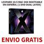 Leopard 10.5 Mac Osx (1 Dvd Dual Layer) + Envio Gratis