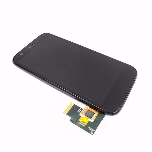 Modulo Display Tactil Touch Lcd Vidrio Pantalla Para Moto G