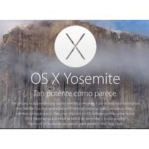 Osx Yosemite 10.10 Para Reparar, Actualizar, Desactualizar