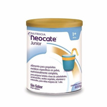 Neocate Junior Nutricia Leche En Polvo Sin Sabor 400 Gr