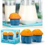 Moldes De Silicona Para Muffins- Cupcakes Forma De Jean X 4