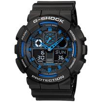 Reloj Casio G-shock Ga-100 Resiste Golpes Resistente Al Agua