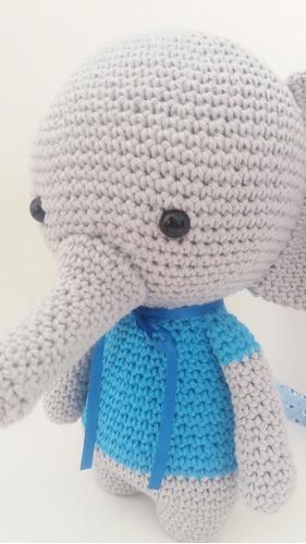 Elefante Bebe De Croche Amigurumi - R$ 65,00 em Mercado Livre   500x281
